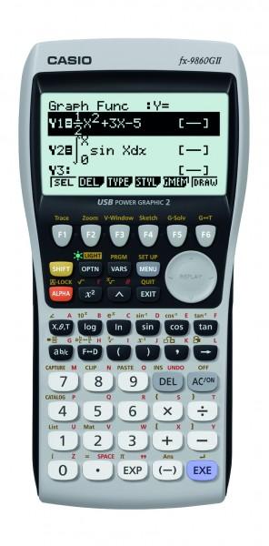 Casio FX 9860 GII