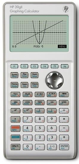HP 39GII