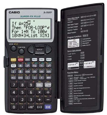 Casio FX 5800P